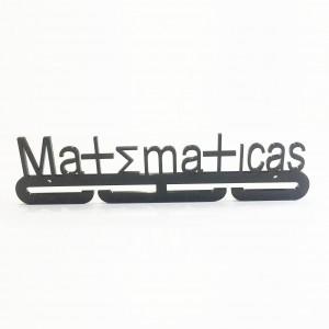Medallero MATEMATICAS  Acrílico