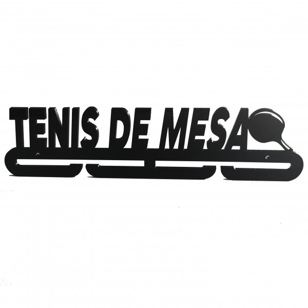 Medallero TENIS DE MESA Acrílico