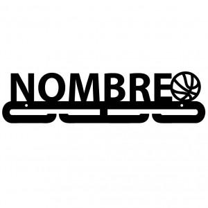 Medallero Personalizado Basket