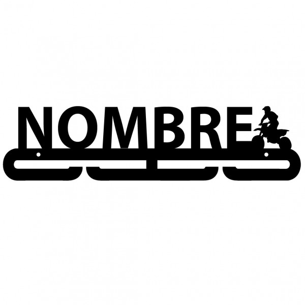 Medallero Personalizado MOTO